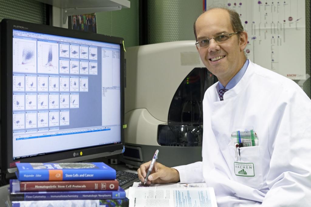 Univ.-Prof. Dr. med. Steffen Koschmieder; Oberarzt der Medizinischen Klinik IV an der Uniklinik RWTH Aachen