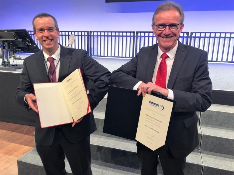 Berlin 2020 Volhard-Preis Boor und Volhard-Medaille Floege