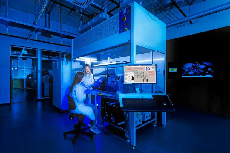 CBMS-460_Automatisierte-Zellkultivierungsanlage